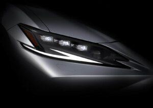 2022 Lexus ES teaser