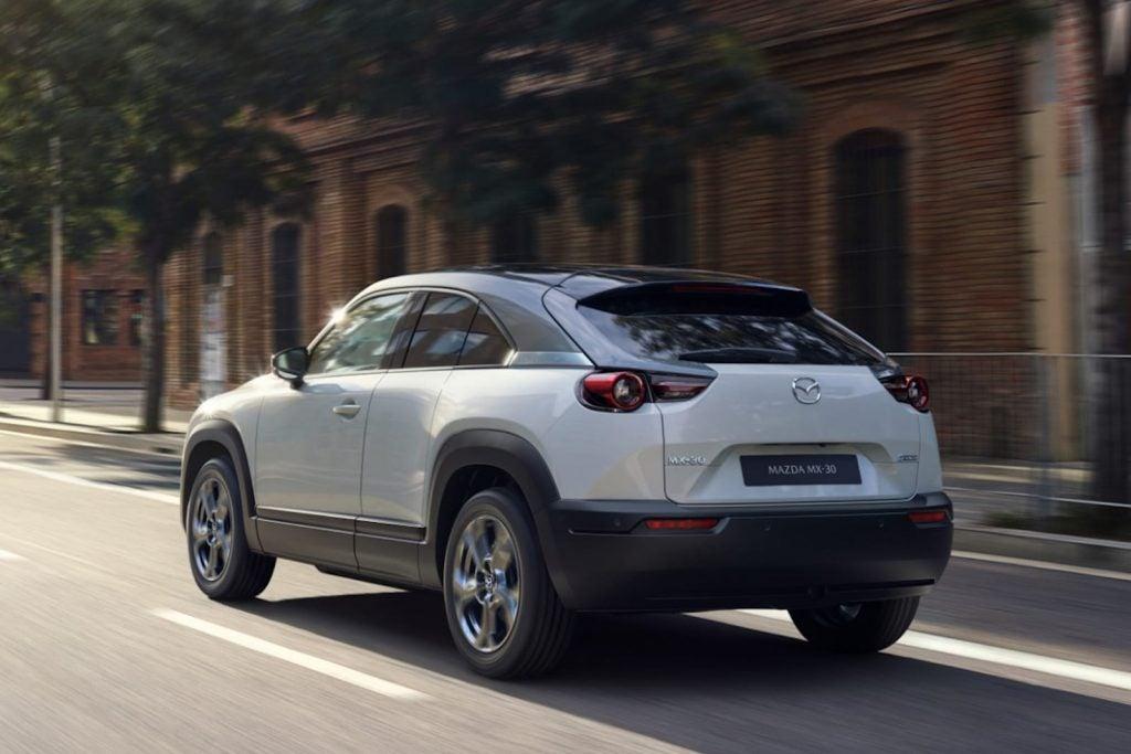 2022 Mazda MX-30 EV rear