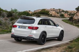 2022 Mercedes-AMG GLC 63 S - rear 3-4