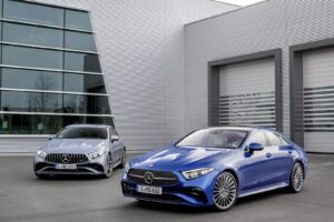 2022 Mercedes CLS 450 and AMG
