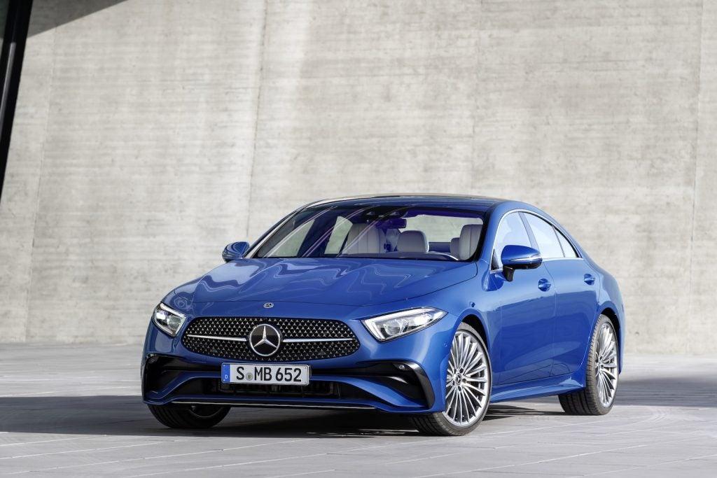 2022 Mercedes CLS 450 front