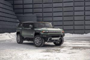 2024 GMC Hummer EV SUV front
