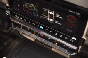 2024 GMC Hummer EV SUV infotainment screen