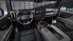 2024 GMC Hummer EV SUV - interior