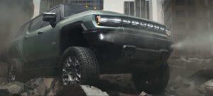 2024 GMC Hummer EV SUV - nose