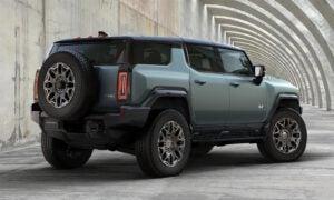 2024 GMC Hummer EV SUV - rear 3-4