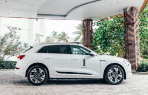 Audi and 1 Hotel e-tron 2021