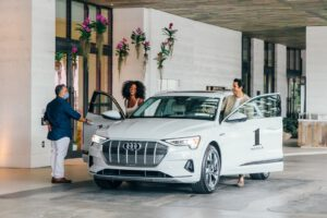Audi and 1 Hotel e-tron deal 2021
