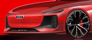 Audi e-tron Shanghai teaser
