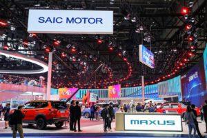 Auto Shanghai 2021 show floor