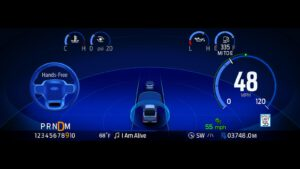 BlueCruise F-150 screen