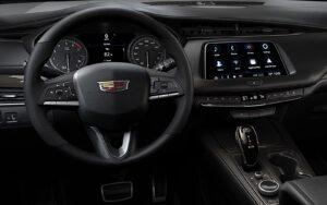 Cadillac XT4 dashboard