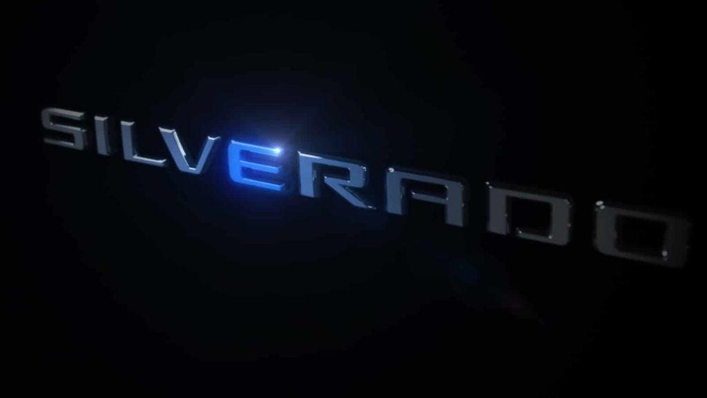 Chevrolet Silverado E teaser