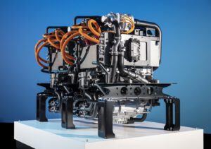 Daimler Volvo twin fuel cell powerplant