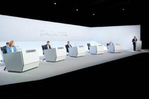 Daimler board at 2021 annual meeting