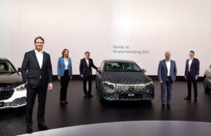 Daimler board before 2021 annual meeting