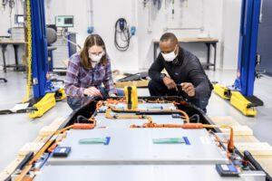 Ford battery development site Allen Park
