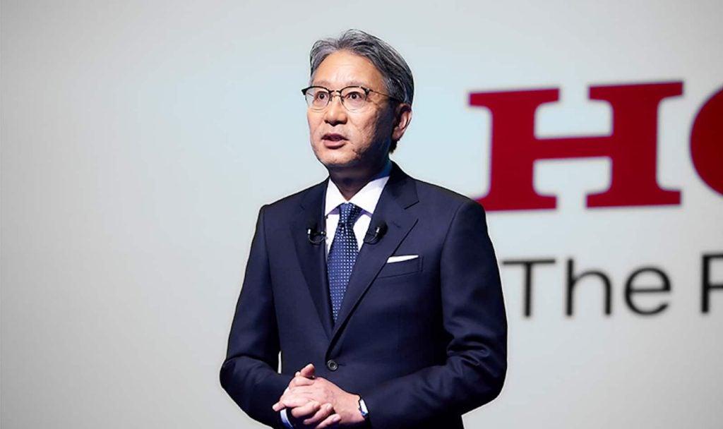 Honda President Toshiro Mibe