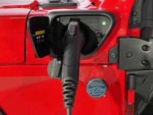 Jeep Wrangler 4xe charging
