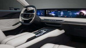 Lincoln Zephyr Reflection Concept - interior