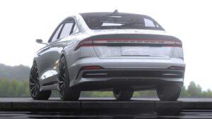 Lincoln Zephyr Reflection Concept - rear 3-4