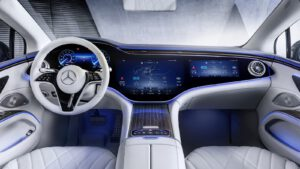 Mercedes EQS interior