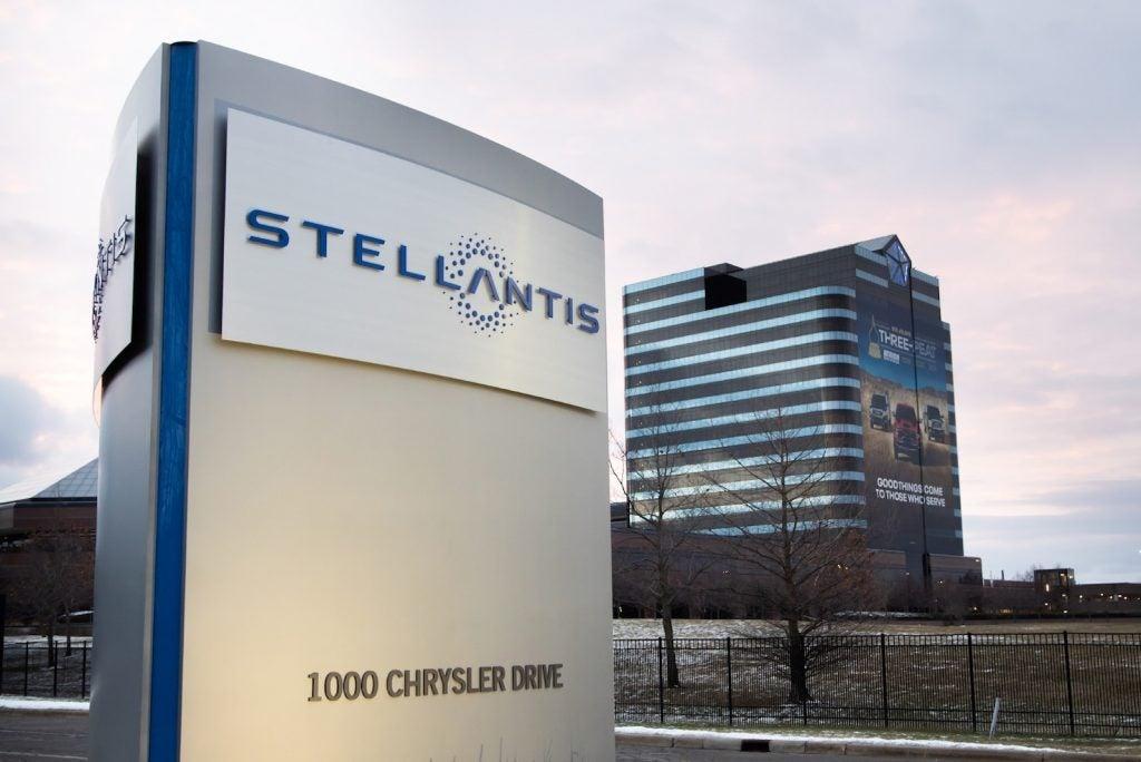 Stellantis sign Auburn Hills