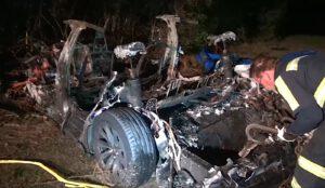 Tesla Autopilot Houston crash 2021
