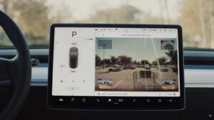 Tesla Sentry Mode view