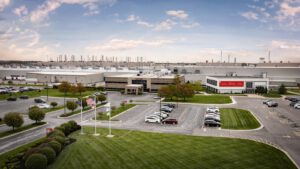 Toyota Indiana plant (TMMI) exterior