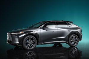Toyota bZ4X Concept front
