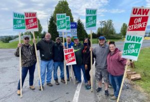 UAW Local 2069 Volvo strikers