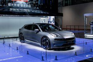 Zeekr 001 Shanghai Auto Show 2021