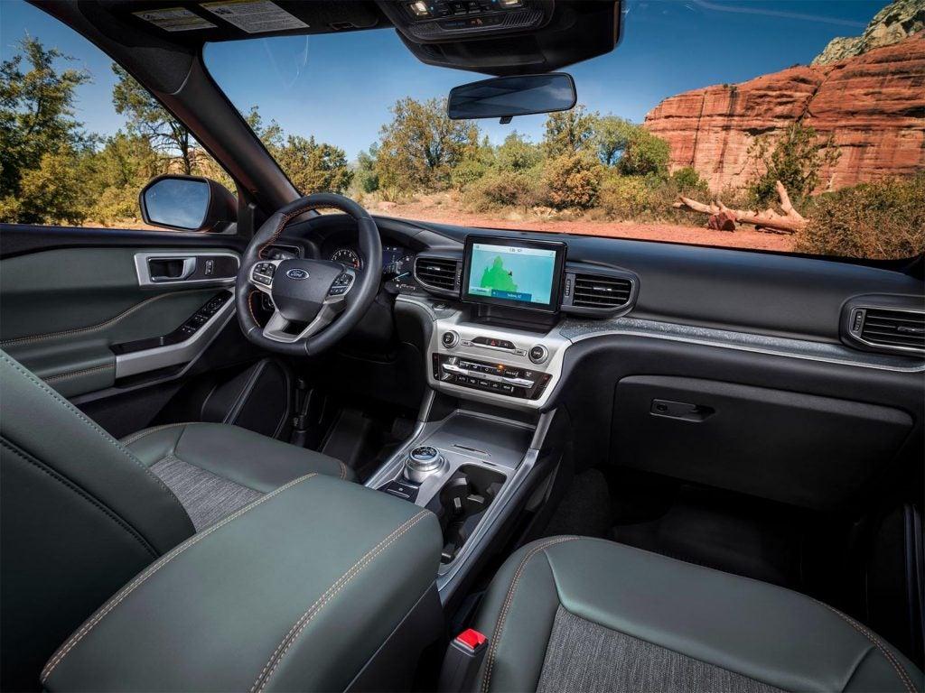 2021 Ford Explorer Timberline interior