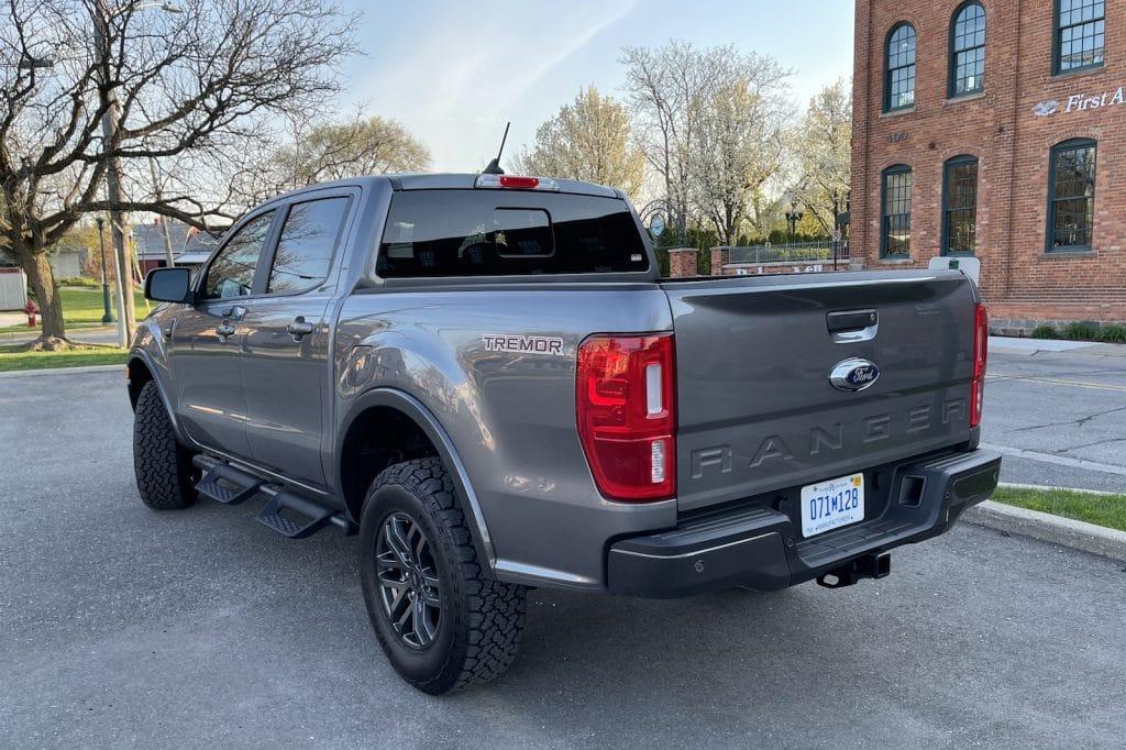 2021 Ford Ranger Tremor rear