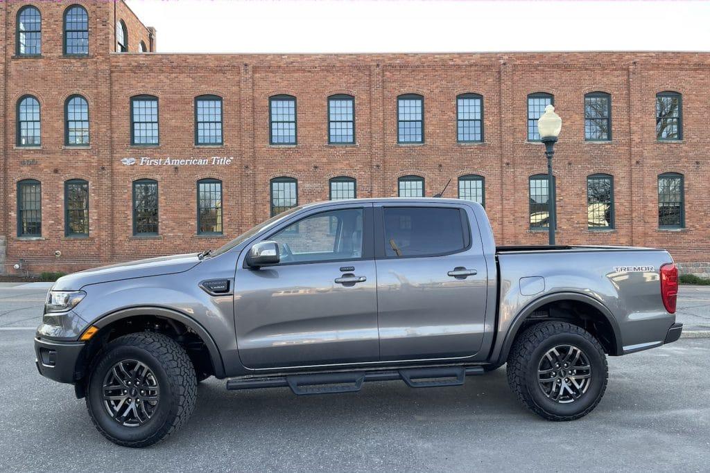 2021 Ford Ranger Tremor side