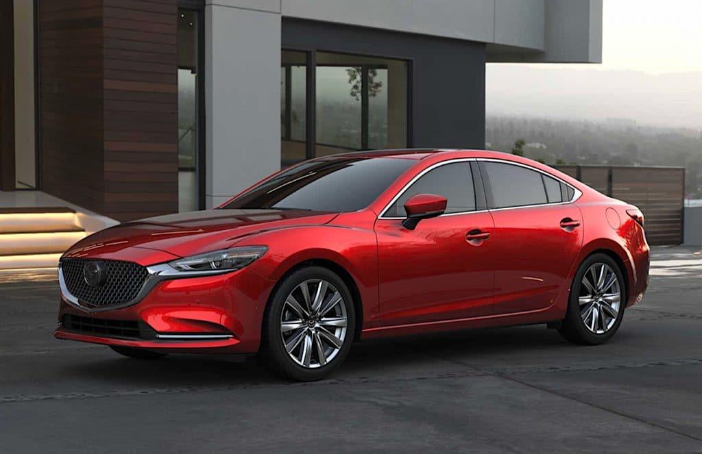 2021 Mazda6 Signature front