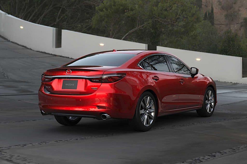 2021 Mazda6 Signature rear