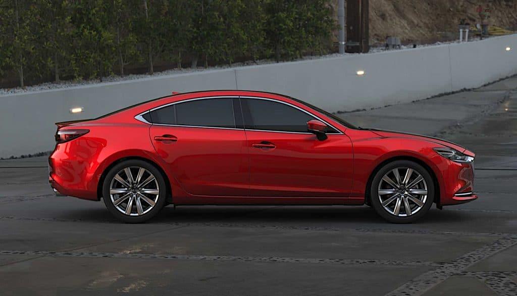 2021 Mazda6 Signature side