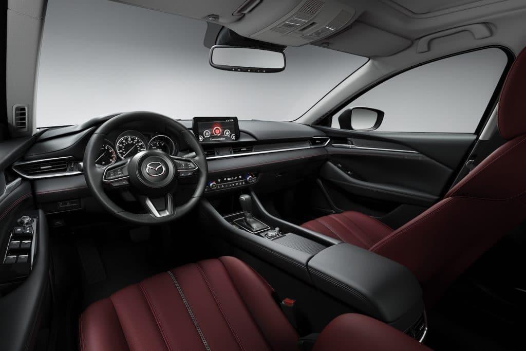 2021 Mazda6 interior