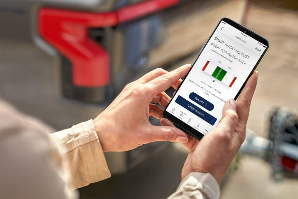 2022 Ford F-150 Lightning phone app