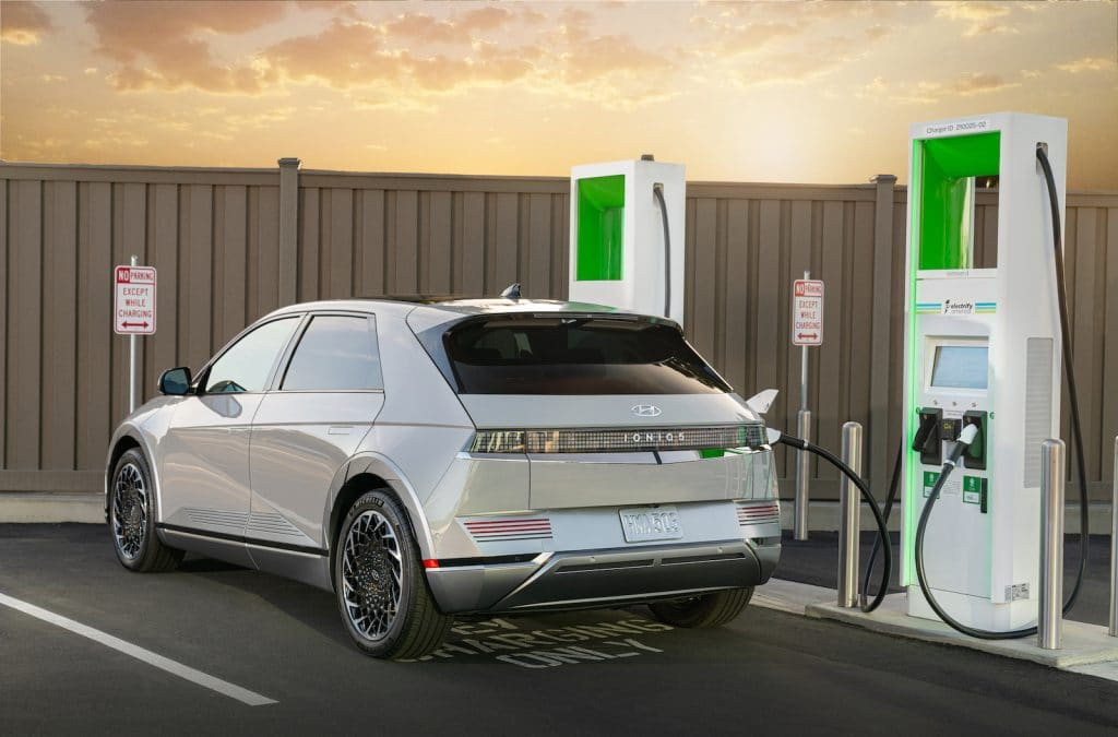 2022 Hyundai Ioniq 5 charging