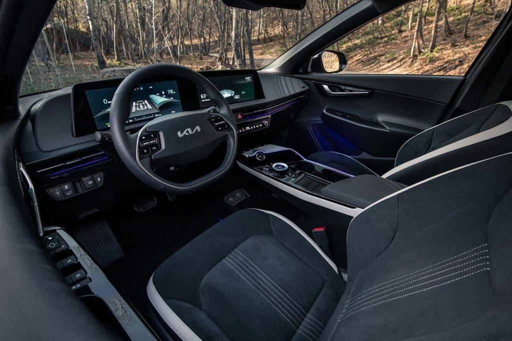 2022 Kia EV6 debut interior