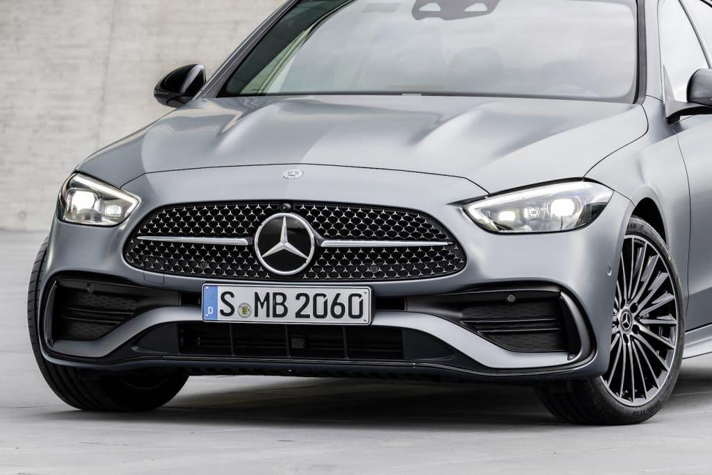 2022 Mercedes C-Class nose