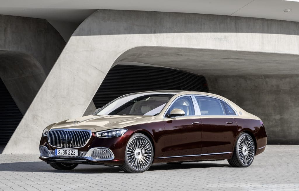 2022 Mercedes-Maybach S 680 front