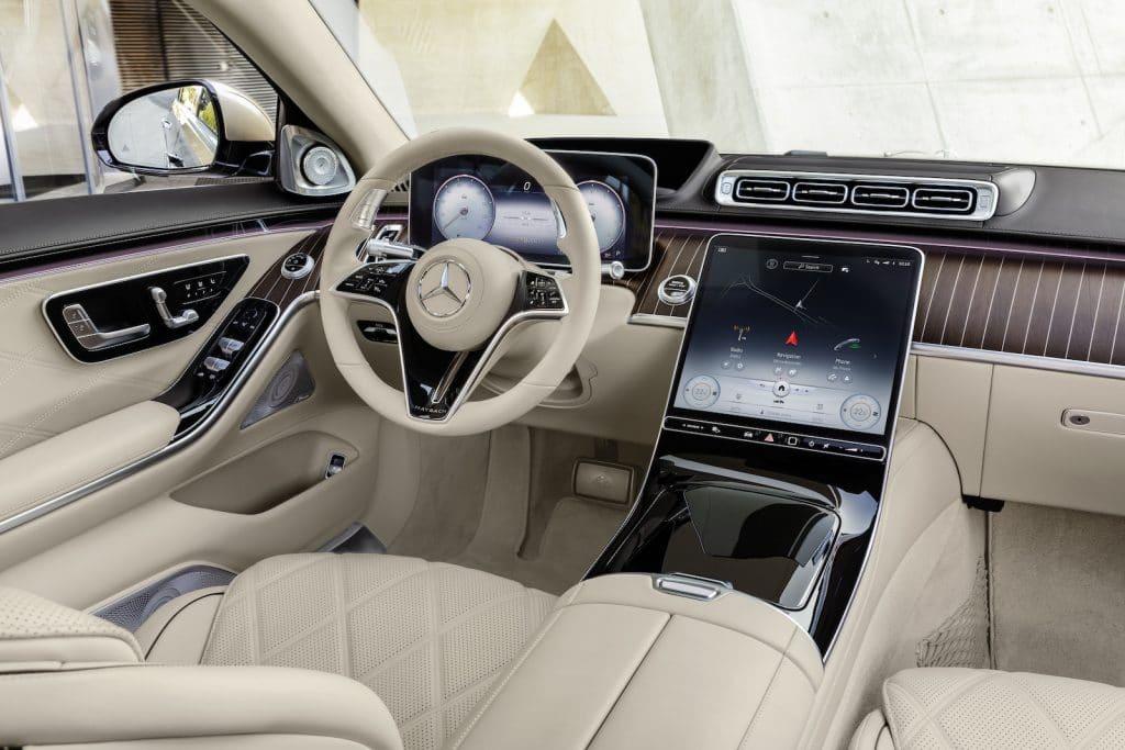 2022 Mercedes-Maybach S 680 interior