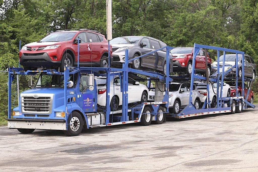 Car hauler auto sales