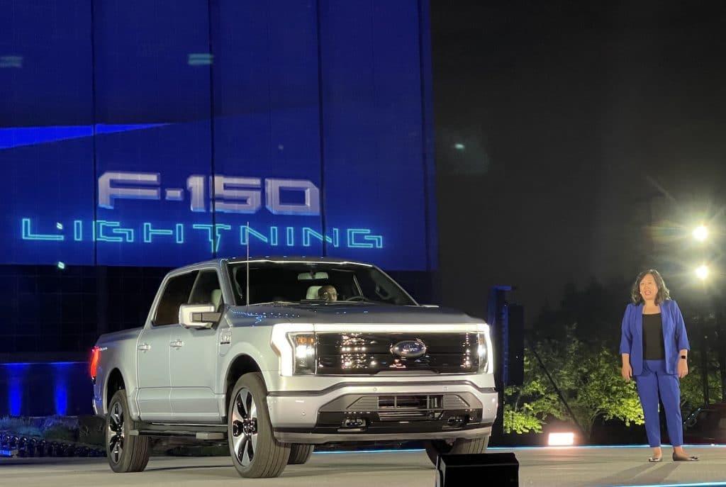 F-150 Lightning Dearborn debut