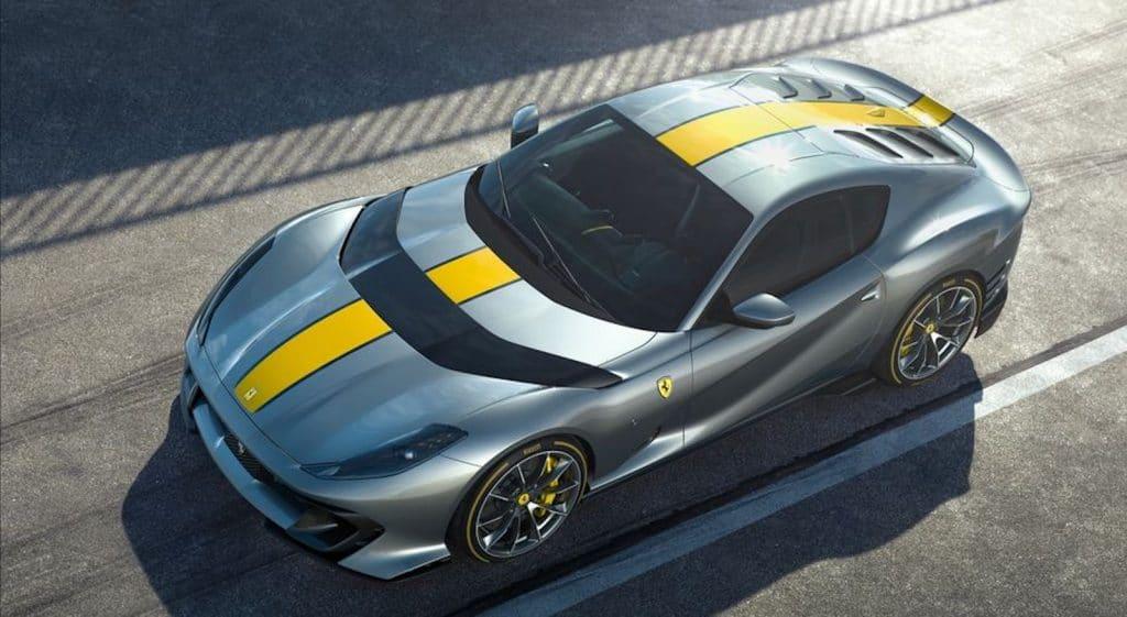 Ferrari limited edition 812 Superfast