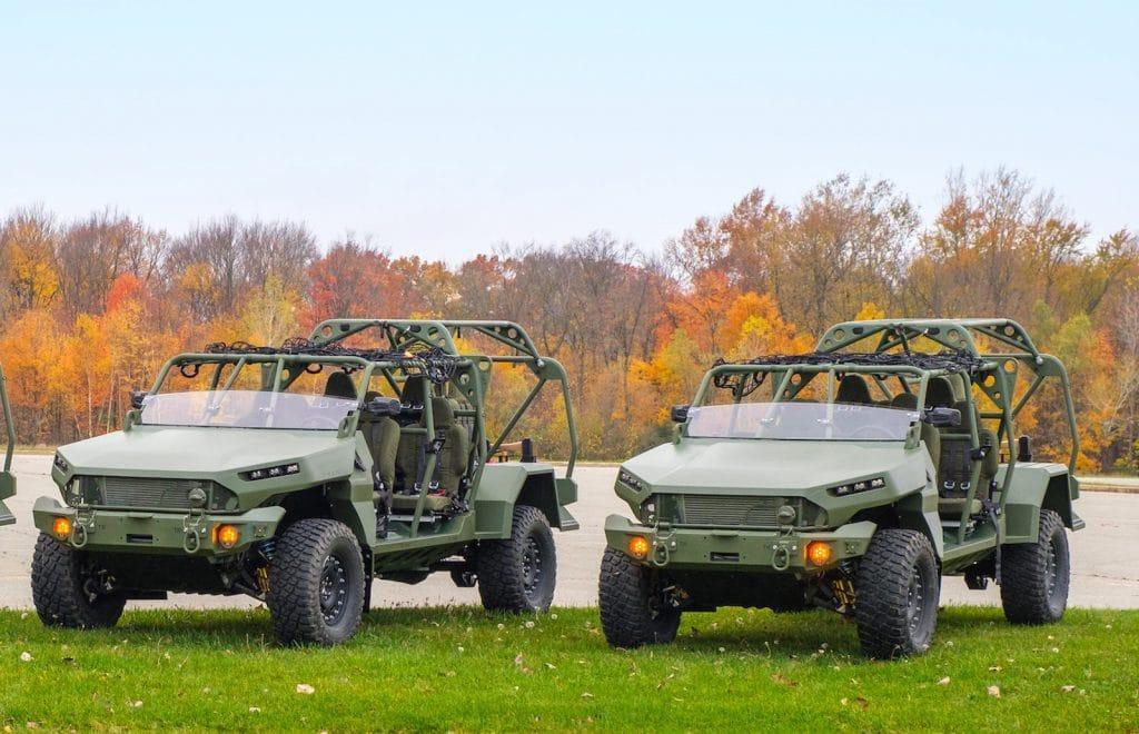 GM Defense ISV trucks